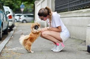 cane con lei